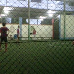 Photo taken at Galaxy Futsal Center by azhar n. on 9/18/2011