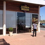 Photo taken at Strada Pizza & Grill by Guilherme T. on 3/1/2012