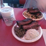 Photo taken at Baker's Ribs by Jody on 9/3/2011