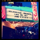 Photo taken at El Rey Theatre by Alejandro A. on 6/5/2012