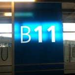 Photo taken at Gate B11 by Seb B. on 7/30/2011