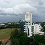 Photo taken at มหาวิทยาลัยราชภัฏนครปฐม (Nakhon Pathom Rajabhat University) NPRU by Poramate M. on 8/14/2012