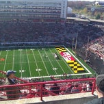 Photo taken at Capital One Field at Byrd Stadium by Loisaida Sam S. on 11/17/2012