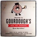 Photo taken at Gourdough's by Adam K. on 10/17/2013
