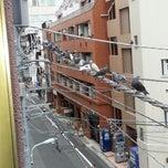 Photo taken at 金子特殊印刷 喫煙所 by Daisuke K. on 4/30/2013
