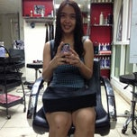 Photo taken at Meteor Garden Salon by Mhay K. on 4/15/2013