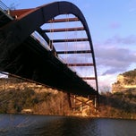 Photo taken at 360 Bridge (Pennybacker Bridge) by Kelli T. on 1/27/2013