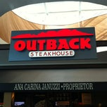Photo taken at Outback Steakhouse by Gerson B. on 10/3/2012