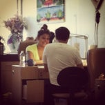 Photo taken at T & M nails by DJ Z. on 9/6/2013