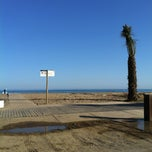 Photo taken at Platja del Prat by Monti on 6/15/2013