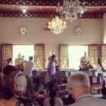 Photo taken at วัดระฆัง คณะ ๑ by สิบเอก บรรเจิด พิทยาประทีป on 6/9/2013
