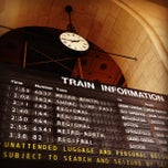 Photo taken at New Haven Union Station by David G. on 10/6/2012