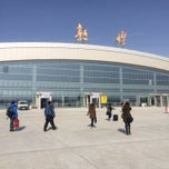 Photo taken at Dunhuang airport (DNH) by Lear on 3/3/2015