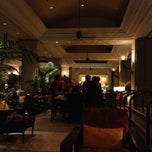 Photo taken at The Lobby Lounge by Donald P. on 5/24/2013