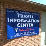 Photo taken at Walworth County Visitors Bureau Welcome Center by Kathleen S. on 4/16/2013