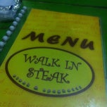 Photo taken at Walk In Steak @ Ladphakao by Meiy K. on 11/24/2012