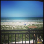 Photo taken at Beach Front On The Atlantic by Izabel Z. on 5/17/2013