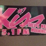 Photo taken at Kiss 95.1 Studios by Maney K. on 7/17/2013
