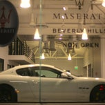 Photo taken at McLaren Beverly Hills by 🍥 김. on 10/27/2014