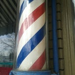 Photo taken at Clifton Barber Shop by Ray F. on 1/17/2014