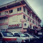Photo taken at Pos Laju Kluang by Mkn A. on 10/21/2013