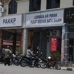 Photo taken at Lembaga Air Perak, Pusat Operasi Batu Gajah by Encik A. on 8/13/2013