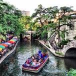Photo taken at The San Antonio River Walk by Justin ⚓. on 6/18/2013