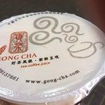 Photo taken at Gong Cha 貢茶 by Graeme M. on 10/13/2013