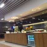 Photo taken at Lufthansa Senator Lounge by Francesco B. on 11/4/2013