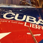 Photo taken at Cuba Libre Restaurant & Rum Bar by Jennifer A. on 10/13/2012