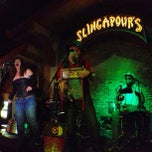 Photo taken at Slingapour's by Jen V. on 2/18/2013
