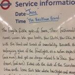 Photo taken at Tufnell Park London Underground Station by Laxmi on 6/13/2014