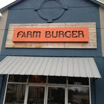 Photo taken at Farm Burger by OvenPOP 360 S. on 3/23/2013