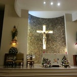 Photo taken at Iglesia San Judas Tadeo by Paulina M. on 1/1/2014