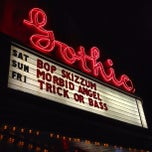 Photo taken at The Gothic Theatre by ultra5280 on 10/7/2012