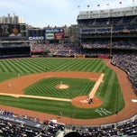 Photo taken at Yankee Stadium SAP Suite by Maria S. on 4/28/2013
