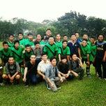 Photo taken at Lapangan Bola FISIP by Muhammad Habibi L. on 12/7/2012