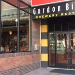 Photo taken at Gordon Biersch, Taichung by Dophi on 2/14/2013