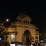 Photo taken at Iskcon mandir by Saurabh P. on 12/27/2012