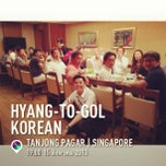 Photo taken at Hyang-to-gol Korean Restaurant by Pawoot (Pom) P. on 8/15/2013