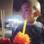 Photo taken at สวนสาธารณะเฉลิมพระเกียรติ 6 รอบ (Chaaloem Phrakiat Park) by Praew C. on 11/6/2014