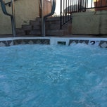 Photo taken at Le Montrose Rooftop Pool by Michael V. on 5/17/2014