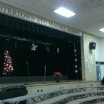 Photo taken at Fostertown ETC Magnet School by Franz C. on 12/20/2012