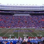 Photo taken at Ben Hill Griffin Stadium by Melany V. on 11/17/2012