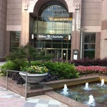 Photo taken at Hilton Charlotte Center City by Elizabeth W. on 6/16/2013
