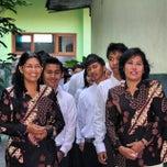 Photo taken at SMP Negeri 1 Malang by Akbar P. on 2/23/2015