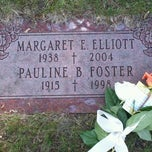 Photo taken at Mount Hope Catholic Cemetery by Melissa T. on 6/20/2013