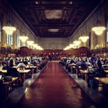 Photo taken at New York Public Library - Rose Main Reading Room by Adjua G. on 10/23/2012