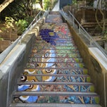 Photo taken at Hidden Garden Mosaic Steps by Maeve D. on 5/15/2015