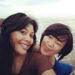 Das Foto wurde bei Puger Beach von bella p. am 4/2/2014 aufgenommen